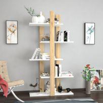 Salle a manger bois blanc vieilli - catalogue 2019 - [RueDuCommerce ...