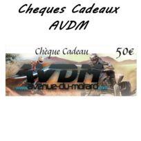 Avdm - Cheque cadeau 50€ classic
