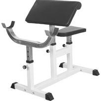 Gorilla Sports - Banc de musculation curl pour entrainer les biceps Gs007