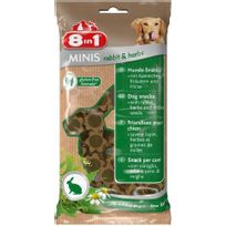 8 In 1 - Friandise Chien, 8IN1 Minis Lapin Herbes