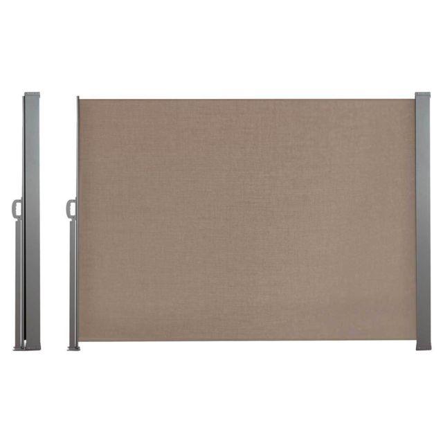 inkazen paravent r tractable 1 4 x 3m taupe pas cher. Black Bedroom Furniture Sets. Home Design Ideas