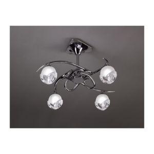 semi plafonnier design bali cromo 4l ampoule g9 osram mantra 5 Luxe Plafonnier Ampoule Uqw1
