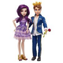 Hasbro - Poupée Disney Descendants : Pack de 2 poupées : Ben et Mal