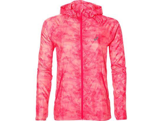 9dde246935b Asics - Fuzex Packable Jacket Rose Veste running femme - pas cher ...