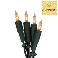 Xmas Living Glass - Basic - Guirlande vert 50 Ampoules 8,85m - Guirlande et objet lumineux designé par