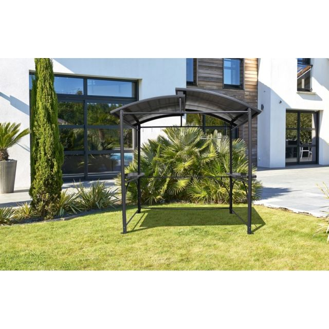 dcb garden abri de barbecue en aluminium pas cher. Black Bedroom Furniture Sets. Home Design Ideas