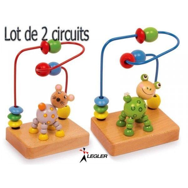 Legler Circuits de Motricité Animaux, lot de 2