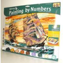 Colart - Peinture par numéros - Les bateaux