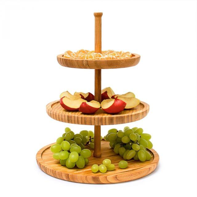 Autre 3 plateaux de service gâteaux apéritif fromage 4313024