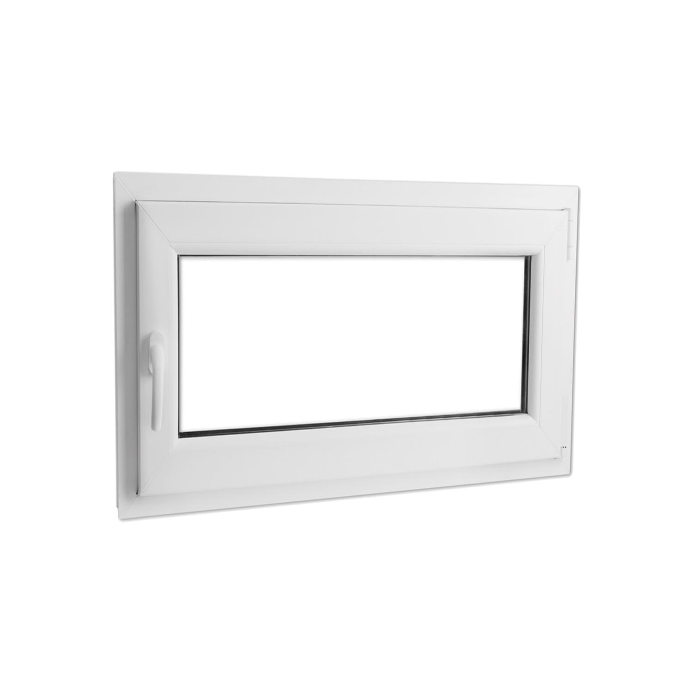 Rocambolesk - Superbe Fenêtre oscillo-battante en Pvc avec poignée à gauche 1 100 x 700 mm Neuf
