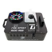 Boomtone Dj - Fog Spray 1500 Rgb