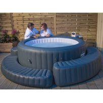 spa gonflable 2 places achat spa gonflable 2 places pas cher soldes rueducommerce. Black Bedroom Furniture Sets. Home Design Ideas