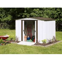 Arrow - Abri de jardin métal Newburgh Shed - 4.5 m²