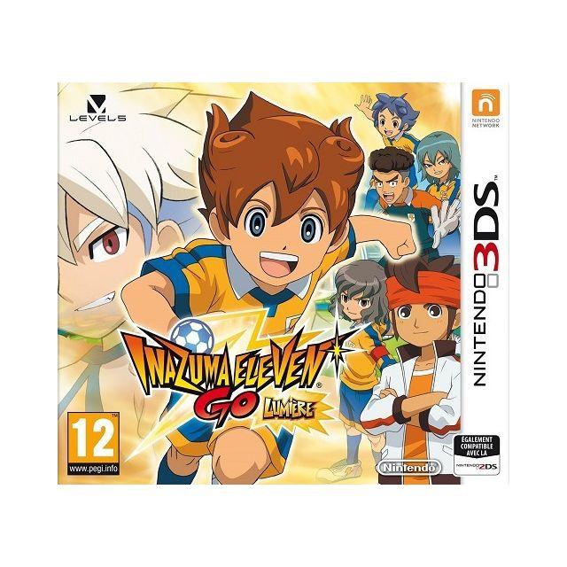 Inazuma eleven go lumiere 3ds sur 3ds achat jeux 3ds - Jeux de inazuma eleven go gratuit ...