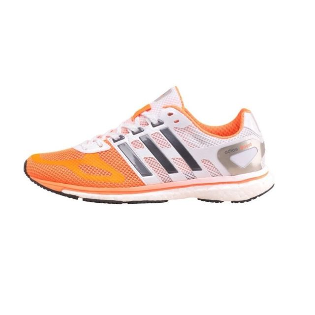 on sale 5cbc3 45182 Adidas - Adizero Adios Boost W Blanc - pas cher Achat  Vente Chaussures  running - RueDuCommerce