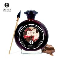 Shunga - Peinture Corporelle Embrassable Chocolat Noir
