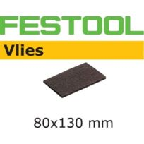 Festool - Lot de 5 Abrasifs Vlies STF 80x130/0 S800 VL - 483582