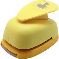 Safetool - Perforateur déco 38mm palmier jaune