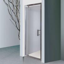 CREAZUR - Porte de douche 6mm NERINA - 90cm
