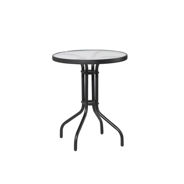 CARREFOUR - Table ronde verre - pas cher Achat / Vente ...
