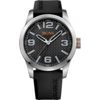 Hugo Boss Orange - Montre Boss Orange Paris 1513350 - Montre Noire Quartz Homme
