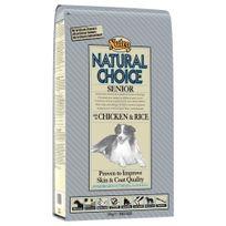 Nutro Natural Choice - Croquettes au Poulet et Riz pour Chien Sénior - 10Kg