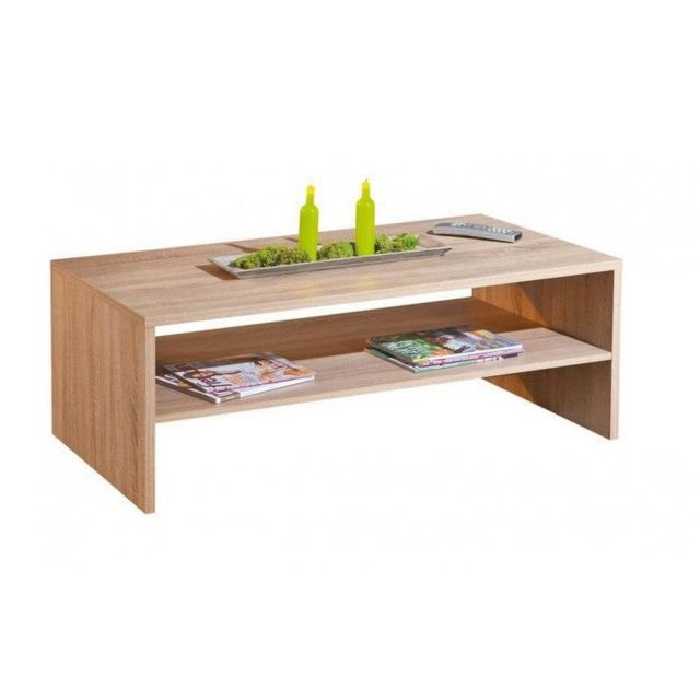 Inside 75 Table basse Absoluto en bois chene