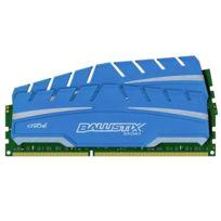 BALLISTIX - Sport XT 8 Go 2 x 4 Go DDR3 1866 MHz Cas 10 - Single ranked