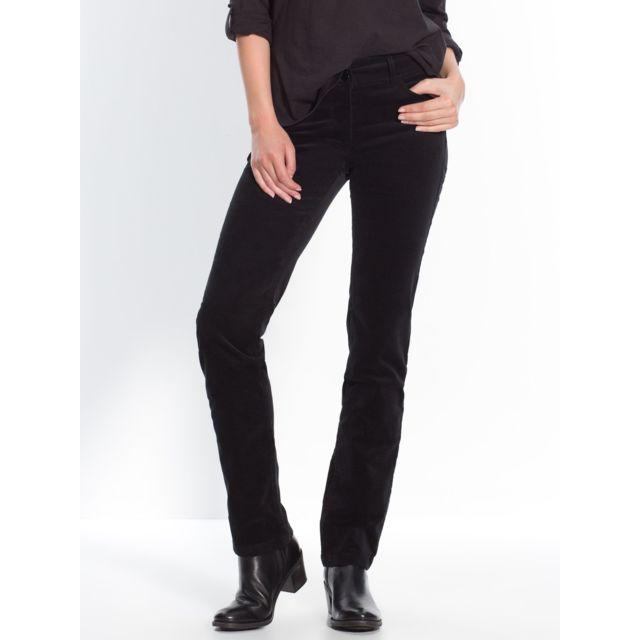 4ae6971be5b Balsamik - Pantalon velours - pas cher Achat   Vente Pantalon femme -  RueDuCommerce