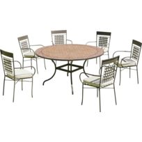 table jardin pied central - Achat table jardin pied central pas cher ...