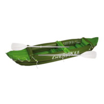 Rocambolesk - Superbe Canoë gonflable 2 pers Waimea Cherokee 88YB vertarmée/citronvert/blanc neuf