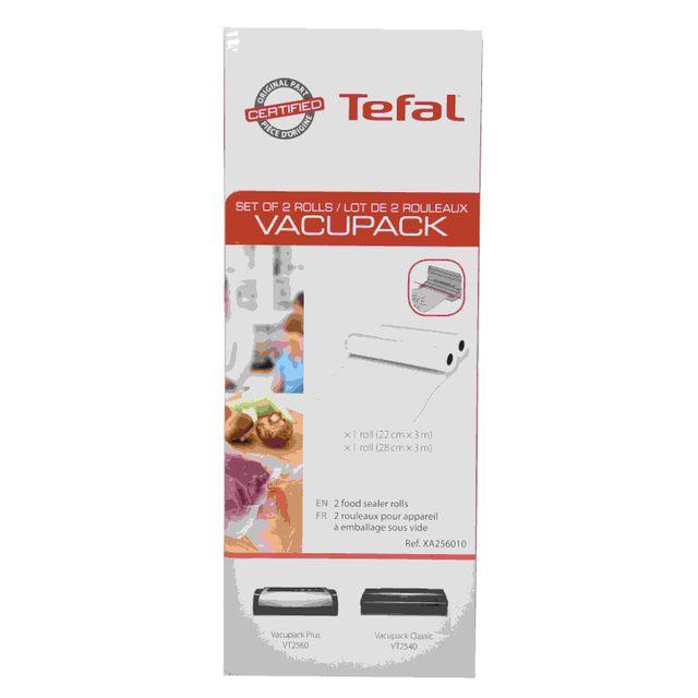 TEFAL Lots de 2 rouleaux Vacupack XA256010
