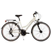 Ks Cycling - Vtc femme 28'' Norfolk Fl blanc Tc 53 cm