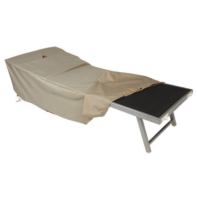 innovaxe housse de protection pour transat bain de soleil no pas cher achat vente fauteuil de jardin rueducommerce - Fauteuil Bain De Soleil