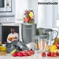 - Mixeur à presser avec accessoires multiples - Lame de broyage et à moudre préparation smoothie et soupe facile