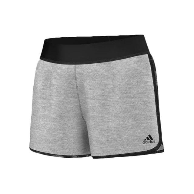 Adidas - Short The Mix Short gris femme - pas cher Achat   Vente Collants -  RueDuCommerce 798a47a214c