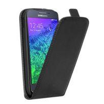 Stax - Etui clapet noir pour Samsung Galaxy Alpha
