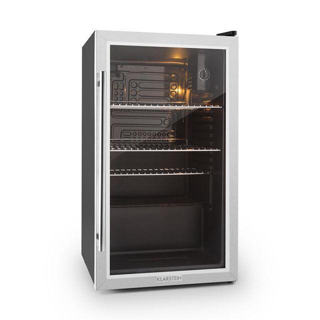 KLARSTEIN Beersafe XXL Réfrigérateur compact 80 litres porte verre classe A
