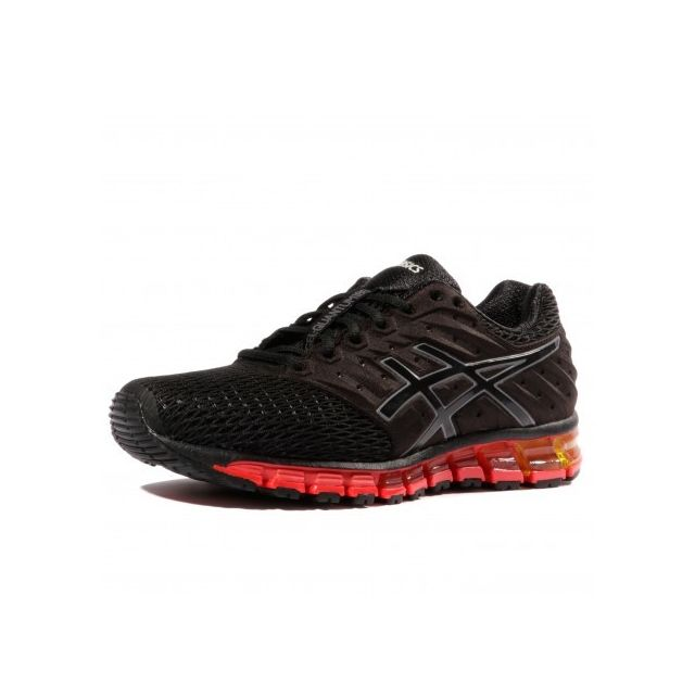 d29b66298d0 Asics - Gel Quantum 180 2 Homme Chaussures Running Noir - pas cher Achat   Vente  Chaussures running - RueDuCommerce