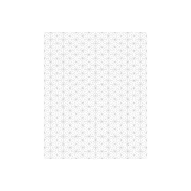 Declikdeco Papier Peint Origami Blanc Gris Pas Cher Achat