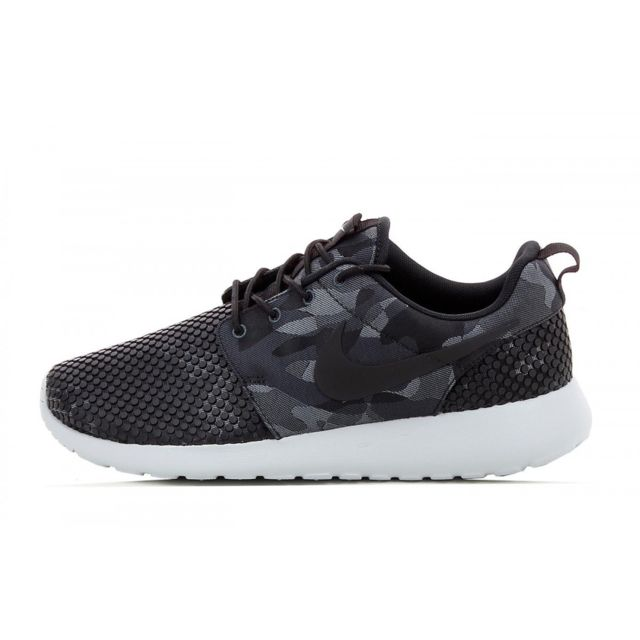 newest ed67d aad2a Nike - Basket Roshe One Premium Plus - 807611-001 - pas cher Achat   Vente  Baskets homme - RueDuCommerce