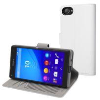 Made For Xperia - Mfx Etui Slim S Folio Blanc Pour Sony Xperia Z5 Compact