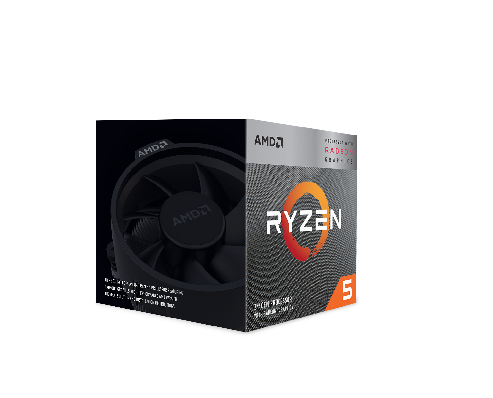 Processeur Ryzen 3 3200G Wraith Stealth Cooler AMD
