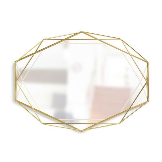 Umbra Miroir Prisma laiton - 56 cm