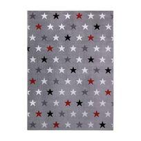 Wecon Home - Tapis Starry Sky Gris par - Couleur - Gris, Taille - 160 x 225 cm