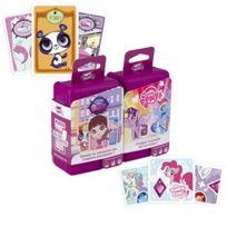 Cartamundi - Jeu De Cartes - Shuffle Bundle Fille My Little Pony + Littlest Petshop