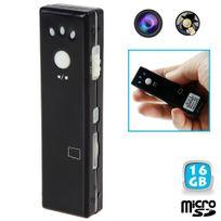 Yonis - Mini camera espion appareil photo video chewing gum Micro Usb 16 Go