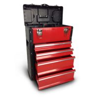 Brick - Servante métallique 40.6X27X55CM 4 tiroirs - Cotr402755-4T
