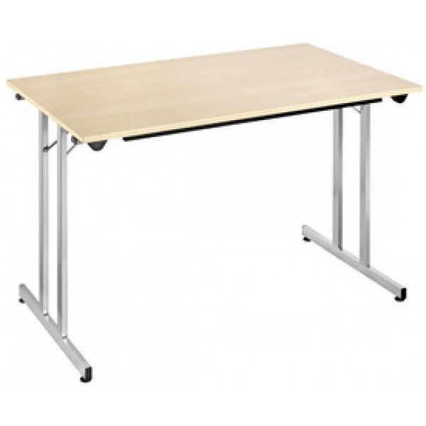 Érable X Cm Pliante Table 120 Alu 60 vn8m0yNOw