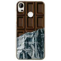 Kabiloo - Coque souple pour Htc Desire 10 Pro avec impression Motifs tablette de chocolat